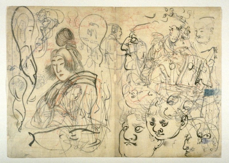 Sheet of Sketches
