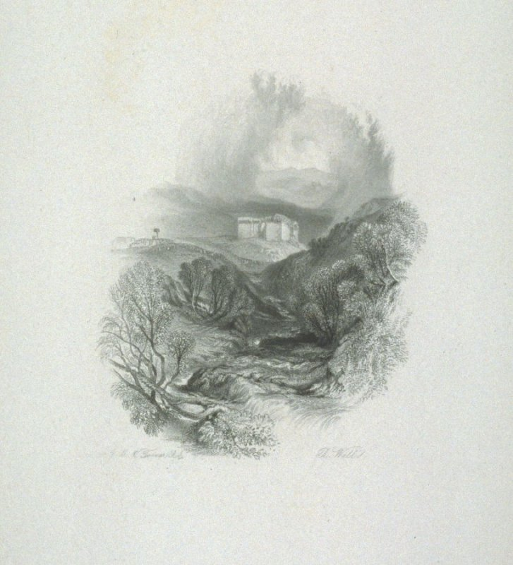 Hermitage Castle, from Scott's Poetical Works