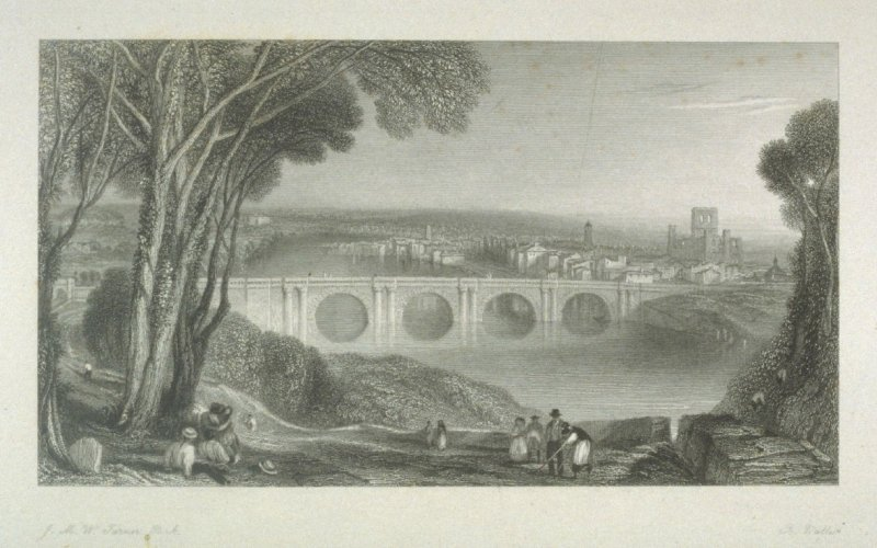 Kelso, from Scott's Poetical Works