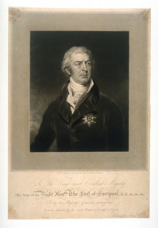 Portrait of the Earl of Liverpool