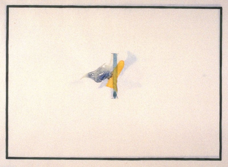 pl. 2 from the portfolio, Galisteo Paintings (San Francisco: Crown Point {Press, 1993)