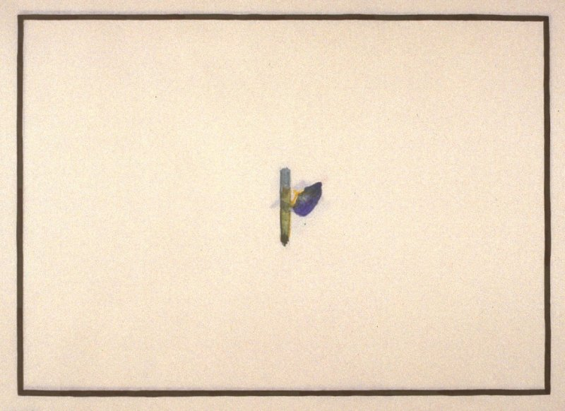 pl. 5, from the portfolio, Galisteo Paintings (San Francisco: Crown Point {Press, 1993)