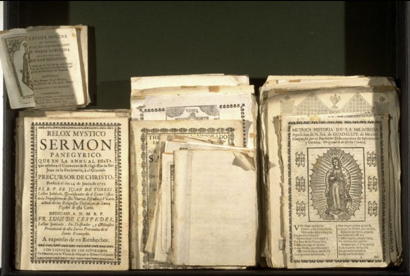 (examples of Mexican printing)