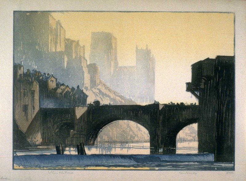 Durham, after Frank Brangwyn