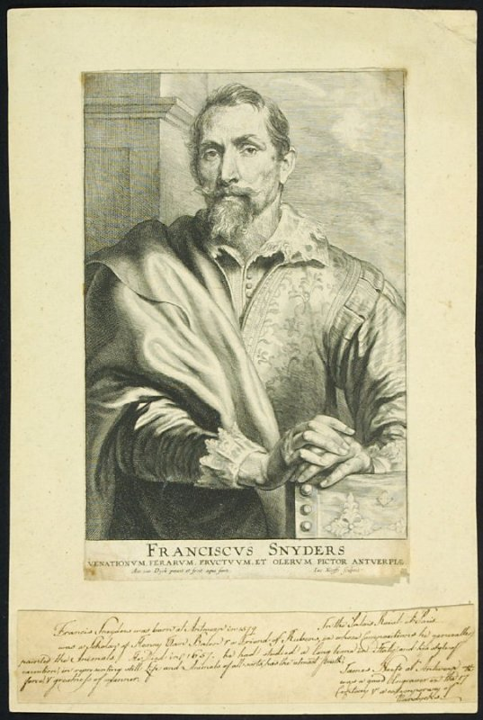 Frans Snyders, from The Iconography