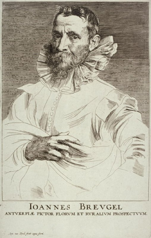 Jan Breugel the Elder, from The Iconography