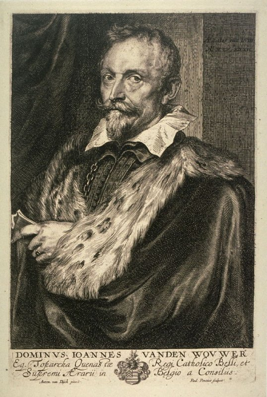 Jan van den Wouwer, from The Iconography