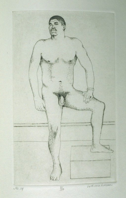 Model, pl. 14 from the bound portfolio, The Nude Man (Berkeley: Crown Point Press, 1965)