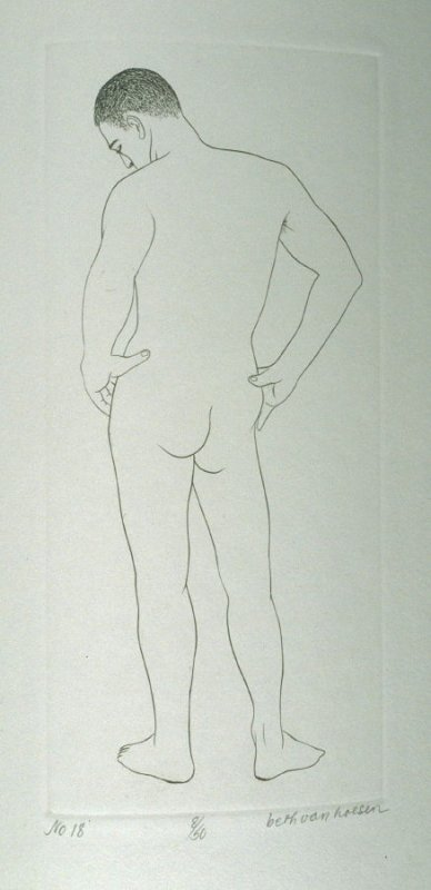 Back, pl. 18 from the bound portfolio, The Nude Man (Berkeley: Crown Point Press, 1965)