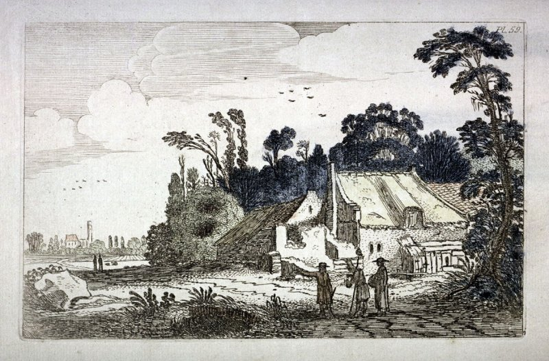 Farm Along a Country Road, from the Sixty Landscapes