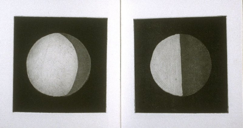 Second image in the book in the book Moon Shrine ([no publisher]: 1992)