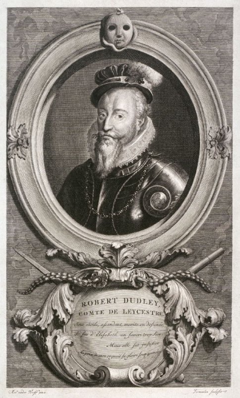 Portrait of Robert Dudley, Count of Leicester