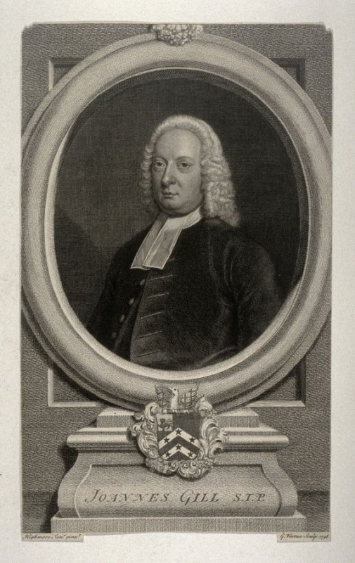 Portrait of Johannes Gill, S.J.P., after Highmore, Jr.