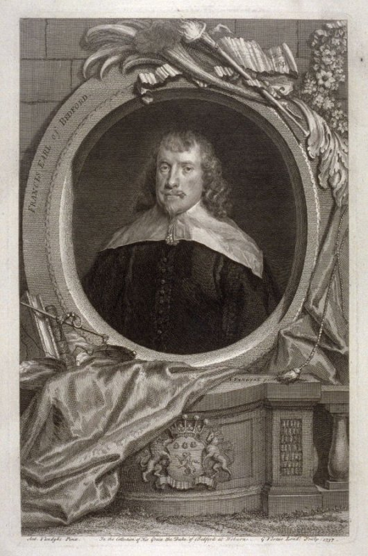 Portrait of Francis, Earl of Bedford