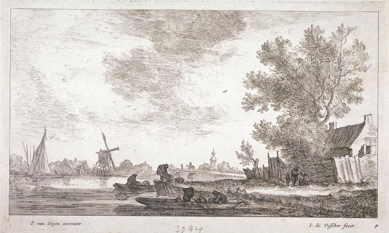 [One of a set of 11 landscapes and seascapes (Plate 4)]