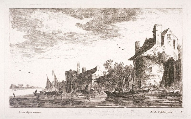 [One of a set of 11 landscapes and seascapes (Plate 9)]