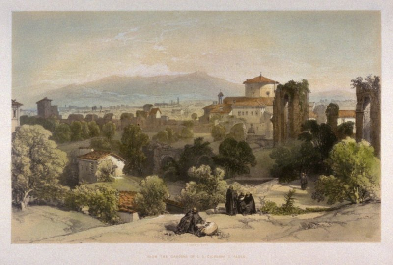 From the Gardens of S.S. Giovanni E Paolo