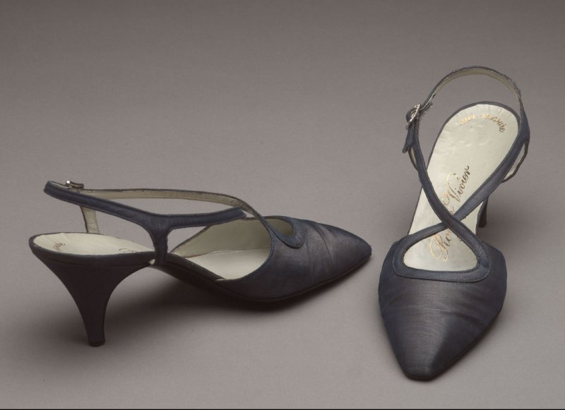 Pair of evening shoes