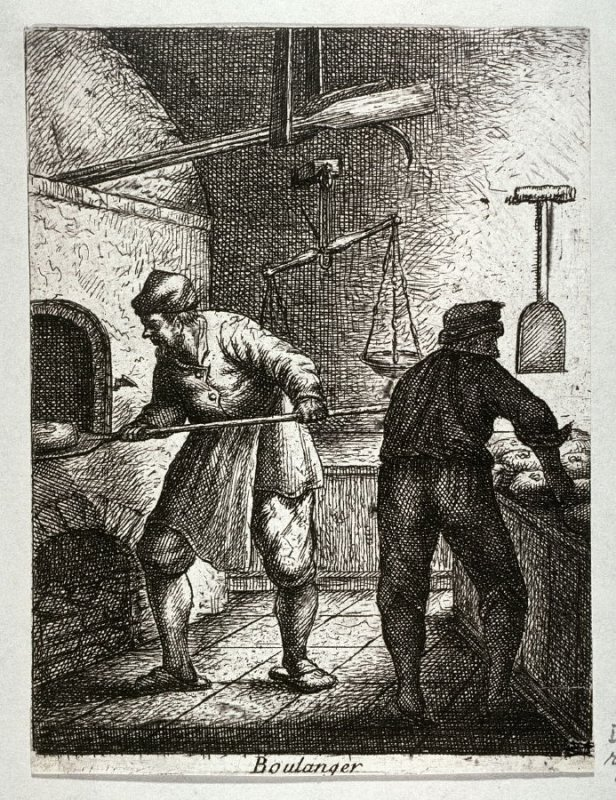 Bakers from the series Crafts and Trades (reverse copy)