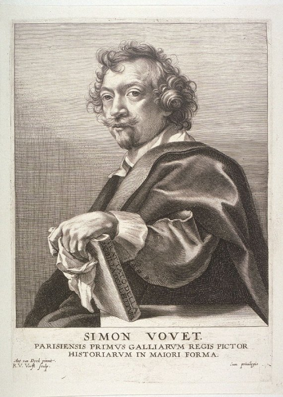 Simon Vouet, from The Iconography