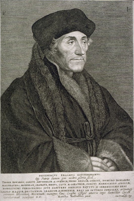 Desiderius Erasmus of Rotterdam, The Light of Our Land, The Pride of Our Age