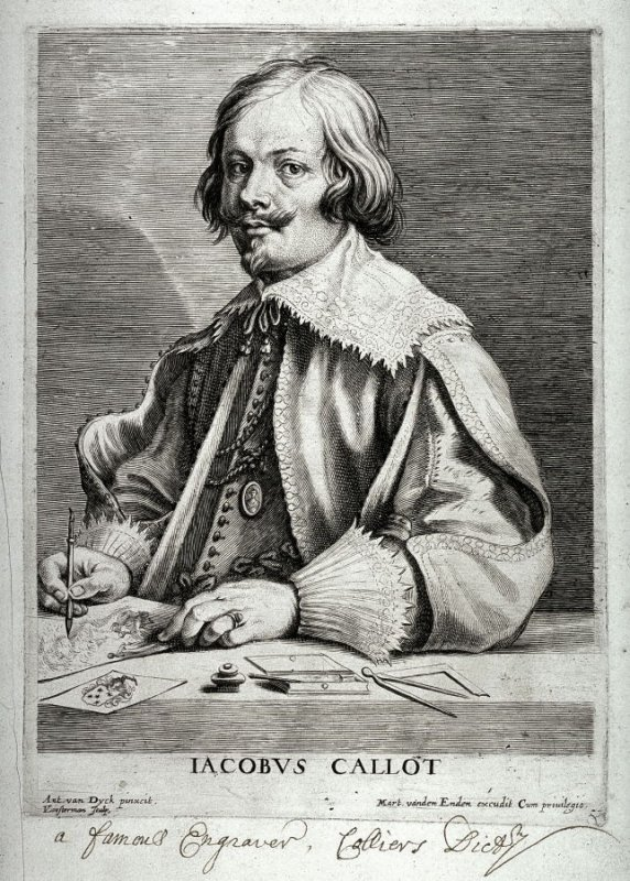 Jacques Callot, from The Iconography