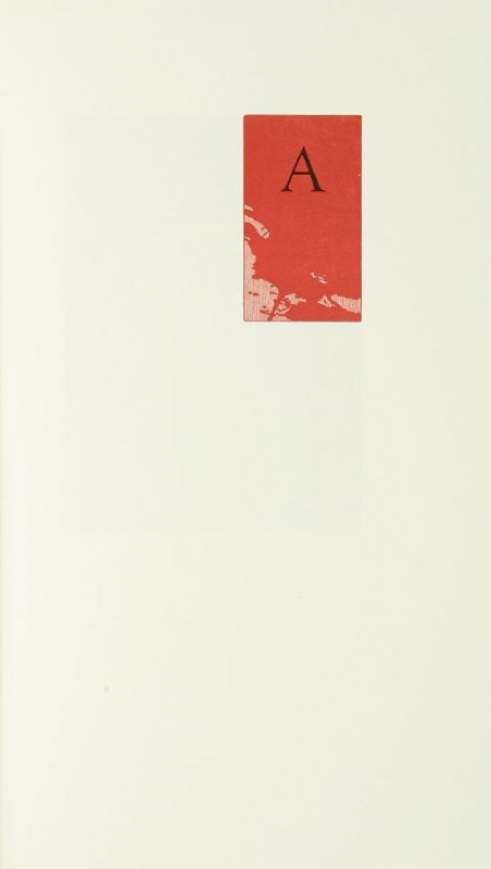 """""""A,"""" in the book Zebra Noise with a flatted seventh by Richard Wagener (Berkeley, CA: Peter Koch, 1998)"""