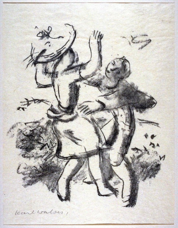 Heidenröslein (A German Folk Song) - Illustration to a poem by Goethe