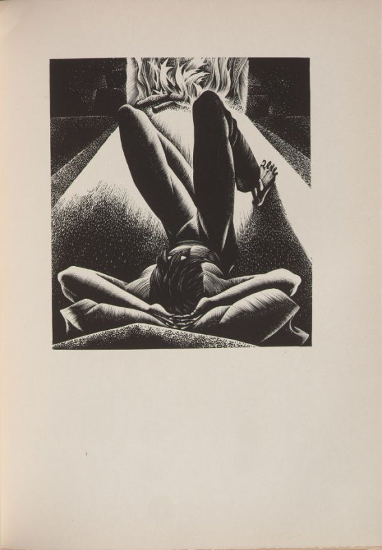 Untitled, illustration 68, in the book Wild Pilgrimage by Lynd Kendall Ward (New York: Harrison Smith & Robert Haas, 1932)