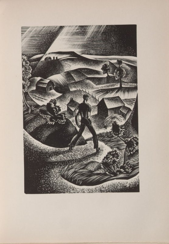 Untitled, illustration 80, in the book Wild Pilgrimage by Lynd Kendall Ward (New York: Harrison Smith & Robert Haas, 1932)