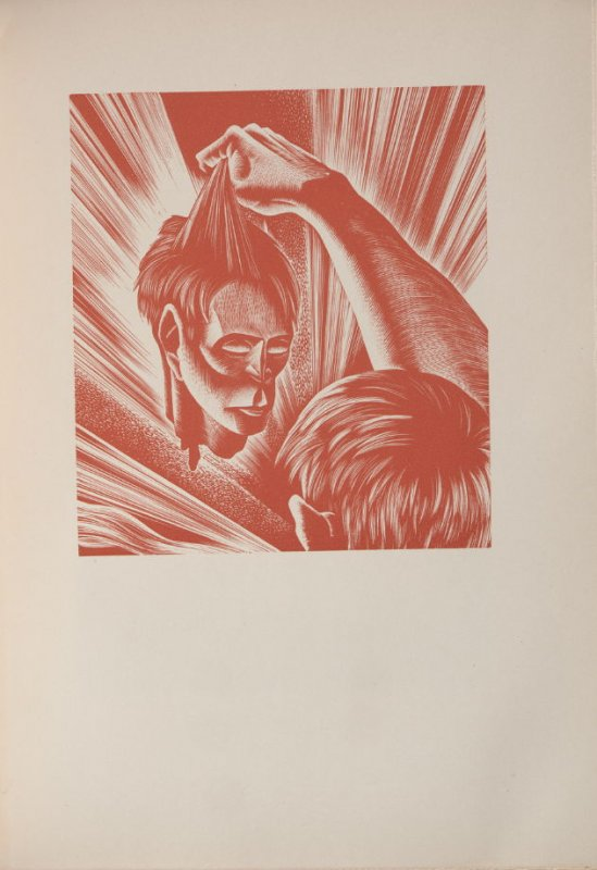 Untitled, illustration 91, in the book Wild Pilgrimage by Lynd Kendall Ward (New York: Harrison Smith & Robert Haas, 1932)