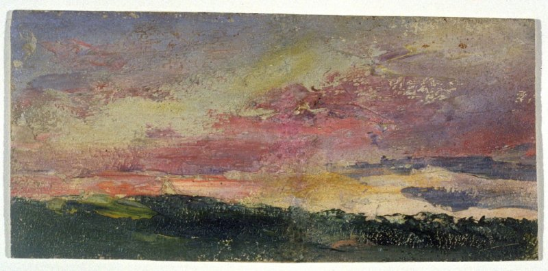 Landscape (Sunset Scene)