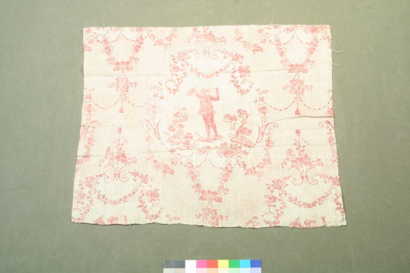 """One of fifty fragments:""""Le Petit Buveur"""" toile"""