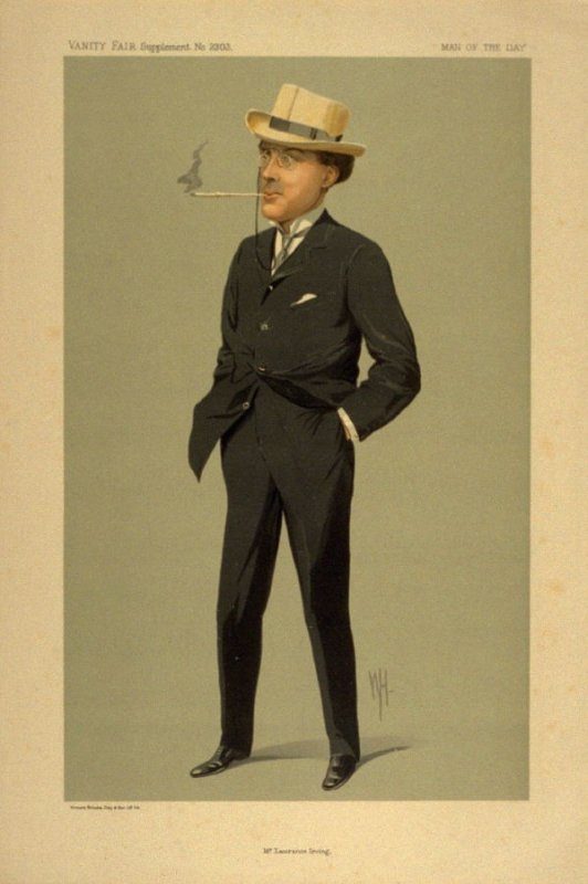 Mr. Laurence Irving, Men of the Day No. 2303, from Vanity Fair Supplement