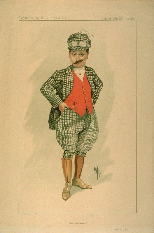 """the King's Jester."" (Mr. Harry Tate.), Men of the Day, from Vanity Fair Supplement No. 2291"