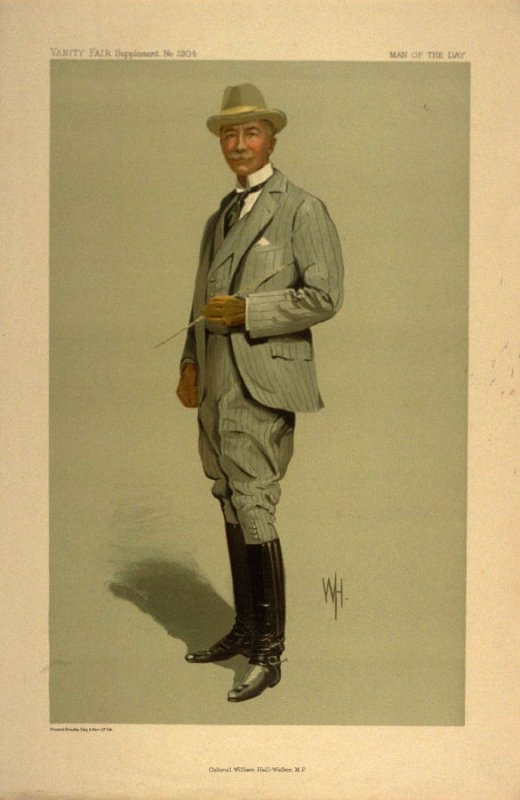 Colonel William Hall-Walker, M.P., Man of the Day No. 2304, from Vanity Fair Supplement