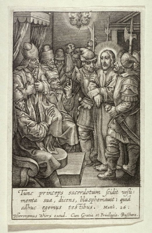 The Passion of Christ: Christ before Caiaphas