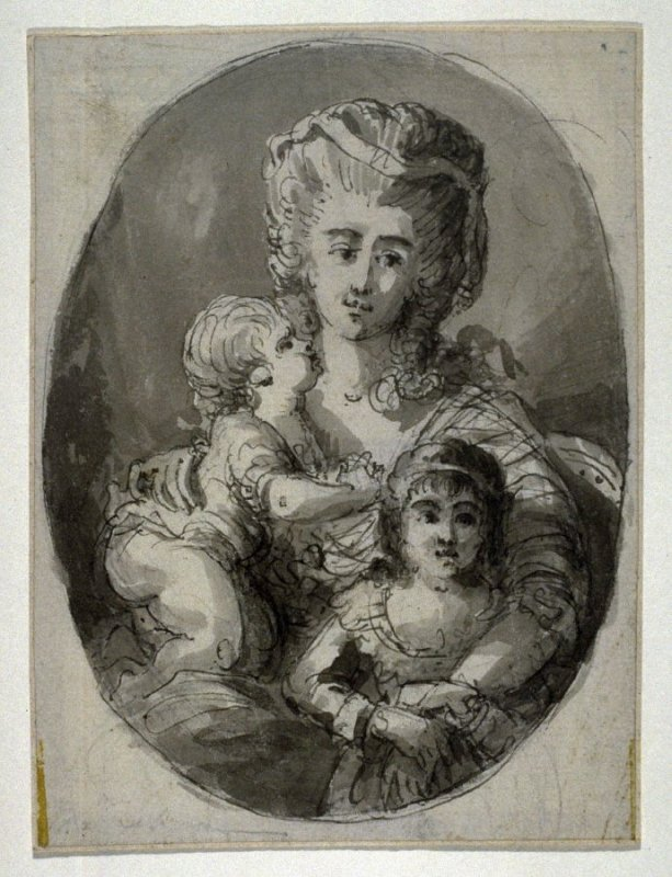 Marie Antoinette and her Two Children (?)