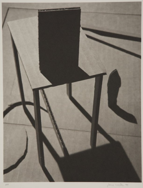 Untitled (Chair) from the series Cardboard Constructions