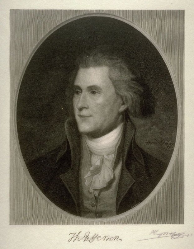 Portrait of Jefferson