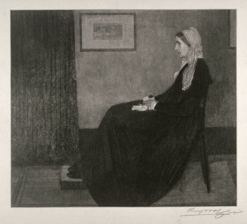Arrangement in Grey and Black no 1. (Portrait of the Artist's Mother)