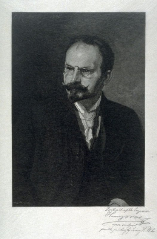 Portrait of the Engraver Henry Wolf