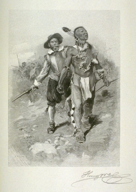 John Smith and the Indians