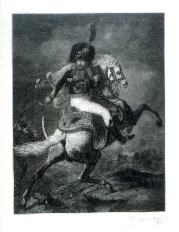 Officer of the Mounted Chasseurs