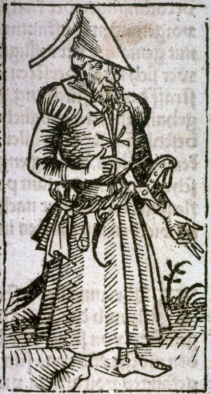 An Ottoman Turk, from the Nuremberg Chronicle