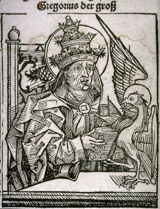 Saint Gregory the Great, from the Nuremberg Chronicle