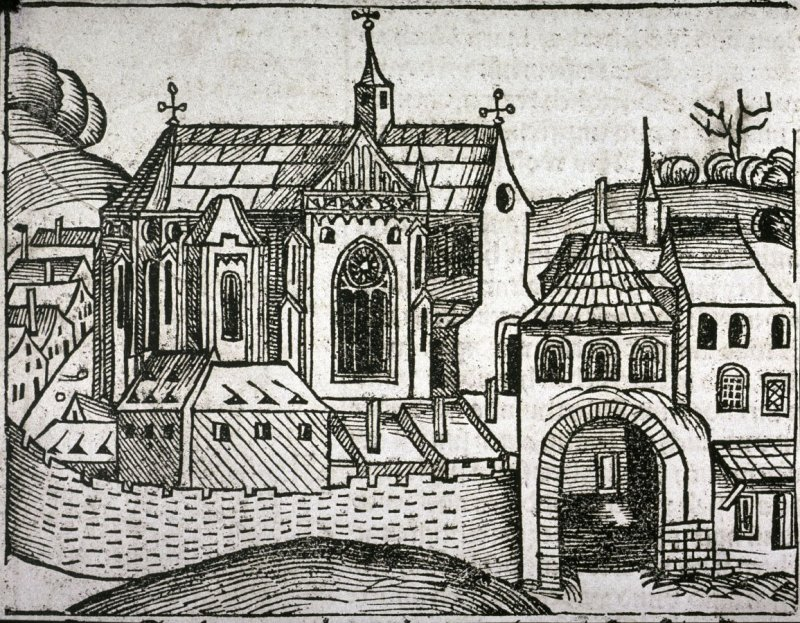 [Cityscape], from the Nuremberg Chronicle