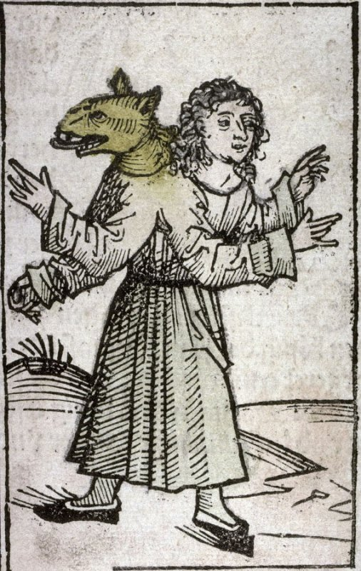 Wolf-Boy, from the Nuremberg Chronicle