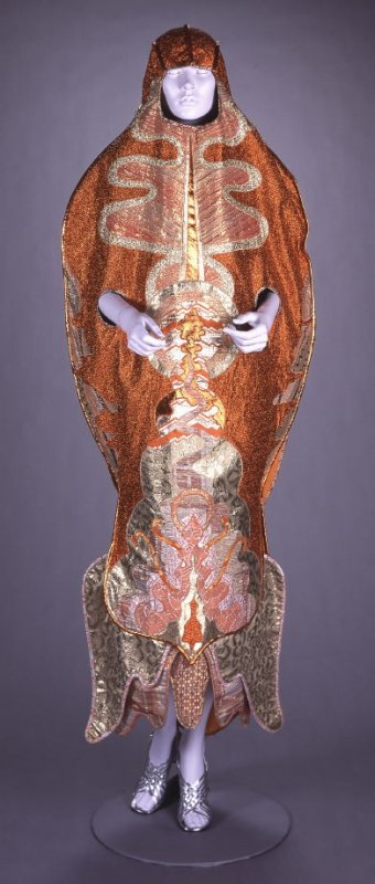 From The Seven Rays series: Orange Ray dress
