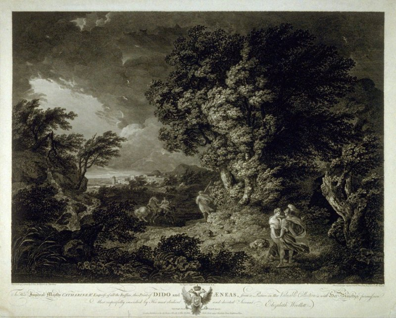 Landscape with figures of Dido and Aeneas